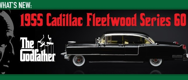 1:18 The Godfather (1972) – 1955 Cadillac Fleetwood Series 60 Special